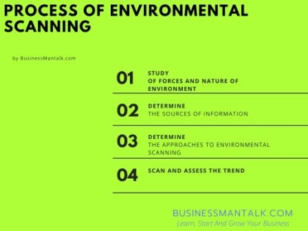 Process of environment scanning