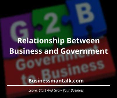 relationship between Government and Business image