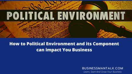 Political environment image
