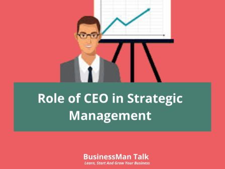 Role of CEO in Strategic Management image