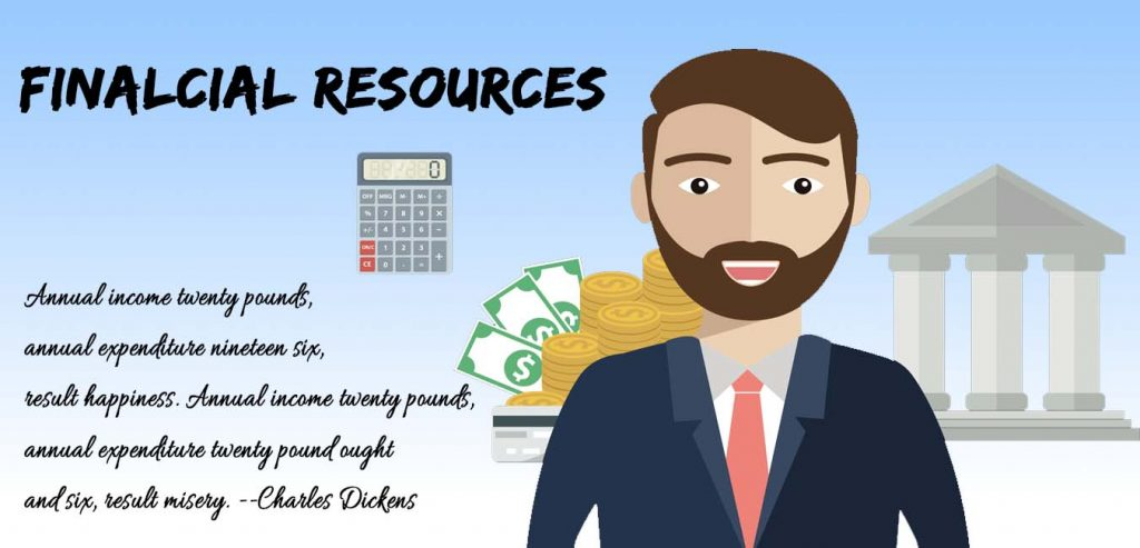 financial resources of Company